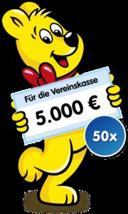 5.000 € ernaschen